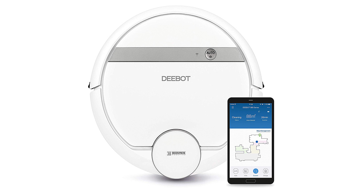 You are currently viewing DEEBOT 900 ECOVACS ROBOTICS