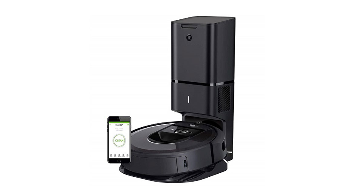 You are currently viewing iRobot Roomba i7+