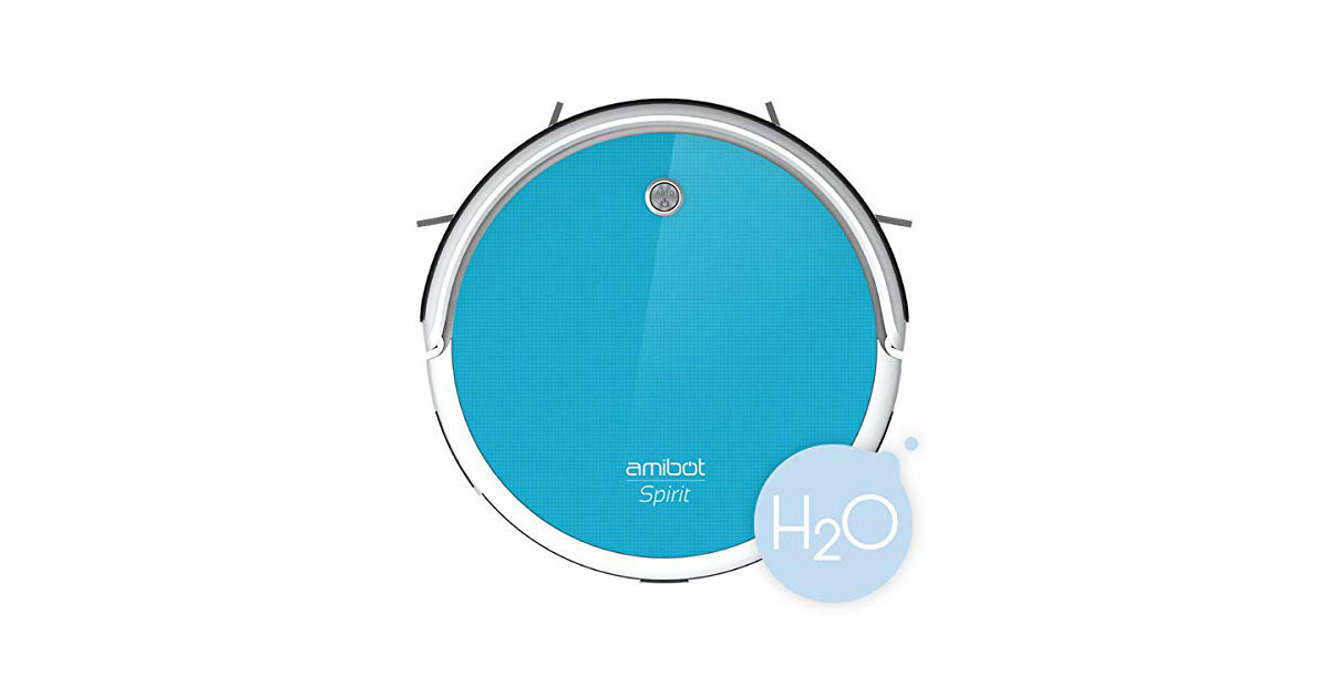Read more about the article AMIBOT Spirit H2O – Robot aspirapolvere ibrido con un serbatoio dell'acqua