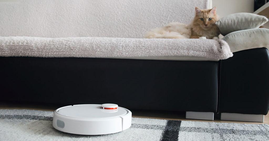 Aspirapolvere robot per chi ha animali in casa