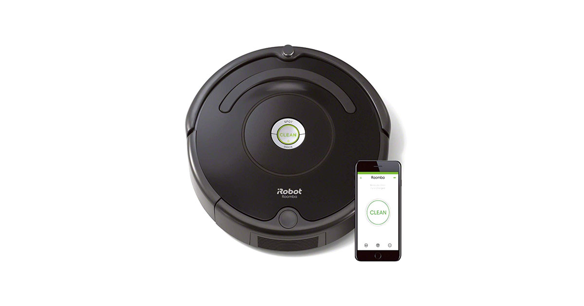 You are currently viewing Robot aspirapolvere iRobot Roomba